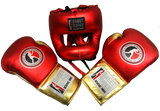 Sweet Science Elite Pro Boxing/Sparring Kit - Red/Gold - Sweet Science Boxing - 1