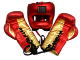 Sweet Science Elite Pro Boxing/Sparring Kit - Red/Gold - Sweet Science Boxing - 2