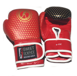 Sweet Science Boxing 6oz Baby Boxing Gloves - Red/Gold - Sweet Science Boxing - 1