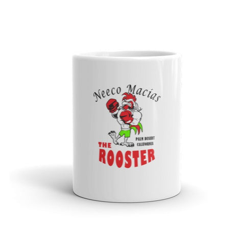 "Neeco Macias ""The Rooster"" Coffee Mug - Sweet Science Boxing - 1"