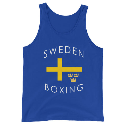 Sweden Boxing Unisex  Tank Top