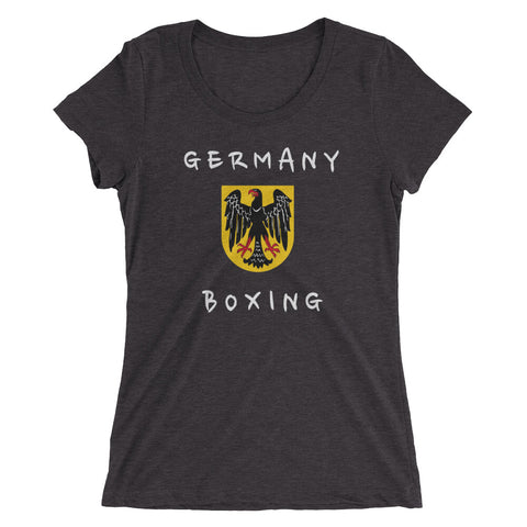 Germany Boxing Ladies' short sleeve t-shirt