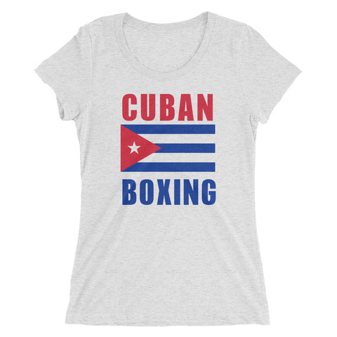 Cuban Boxing Ladies' short sleeve t-shirt