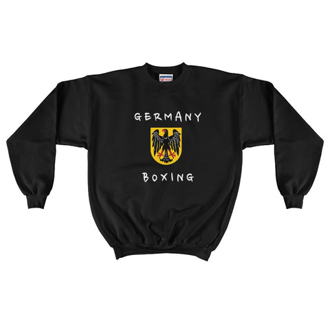 Germany Boxing Men's Crewneck Sweatshirt