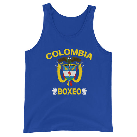 Colombia Boxeo Tank Top