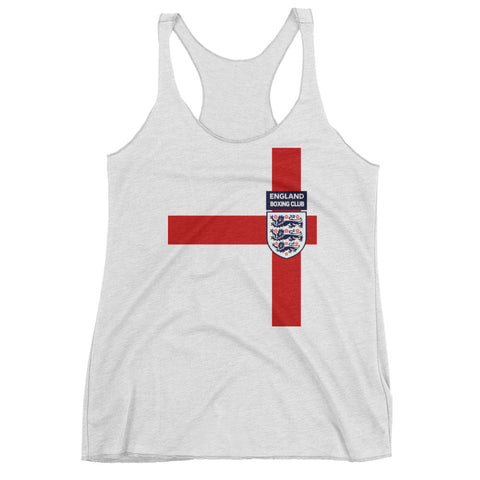 England Boxing Team Women's tank top
