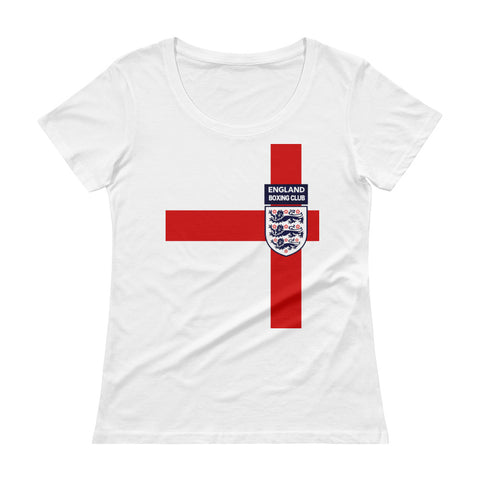 England Boxing Team Ladies' Scoopneck T-Shirt