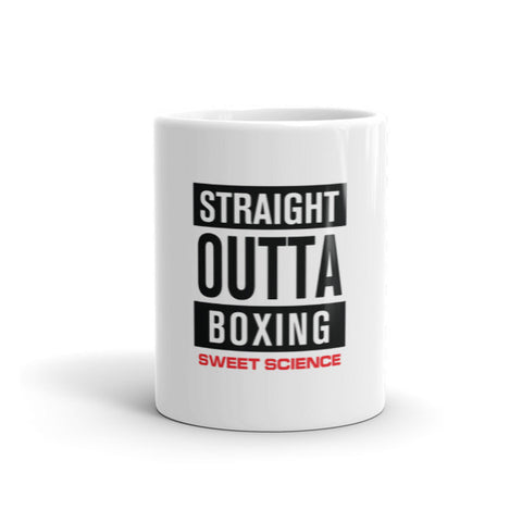 Sweet Science Boxing Straight Outta Boxing Coffee Mug - Sweet Science Boxing - 1