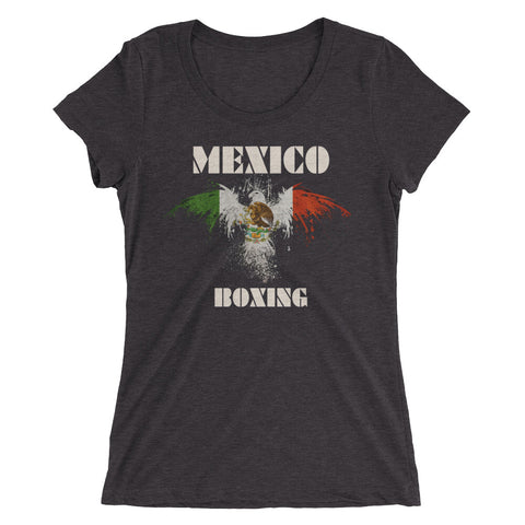 Mexico Boxing Ladies' short sleeve t-shirt