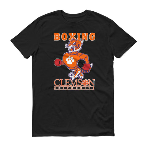 Clemson Boxing Short-Sleeve T-Shirt