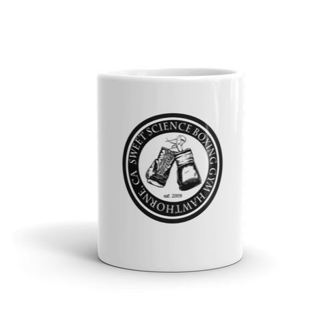 Sweet Science Boxing Rubber Stamp Coffee Mug - Sweet Science Boxing - 1