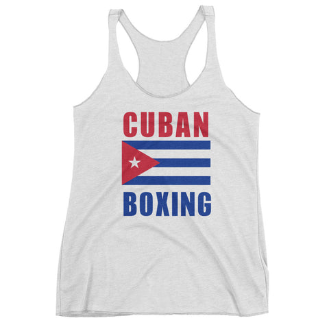 Cuban Boxing Women's tank top