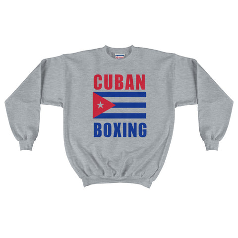 Cuban Boxing Men's Crewneck Sweatshirt