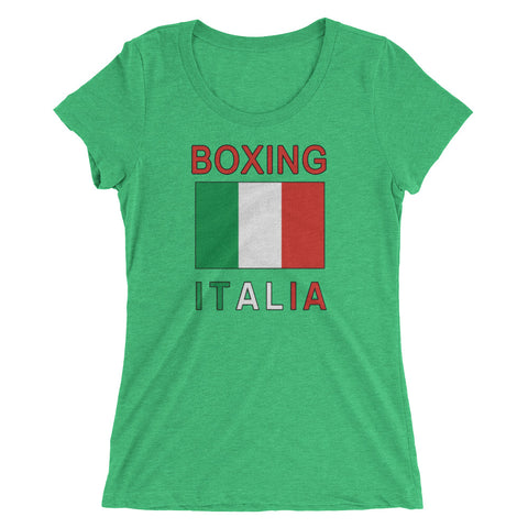 Italy Boxing Ladies' short sleeve t-shirt