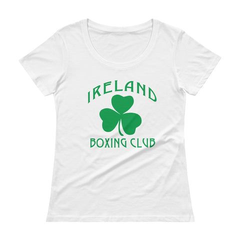 Ireland Boxing Club Ladies' Scoopneck T-Shirt