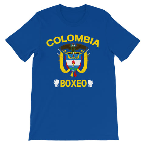 Colombia Boxeo short sleeve t-shirt