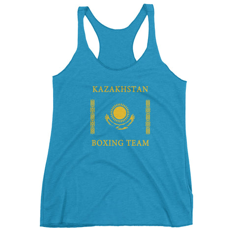 Kazakhstan Boxing Team Women's tank top