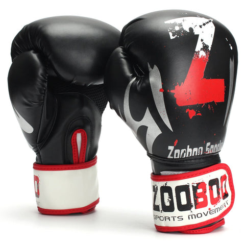 1 Pair Boxing Gloves - Black