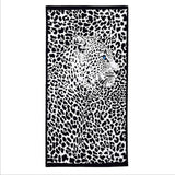 Colorful Printed Large Polyester Microfiber Bath Towel