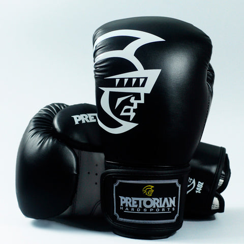 PRETORIAN 10-16oz MUAY THAI PU LEATHER GLOVES