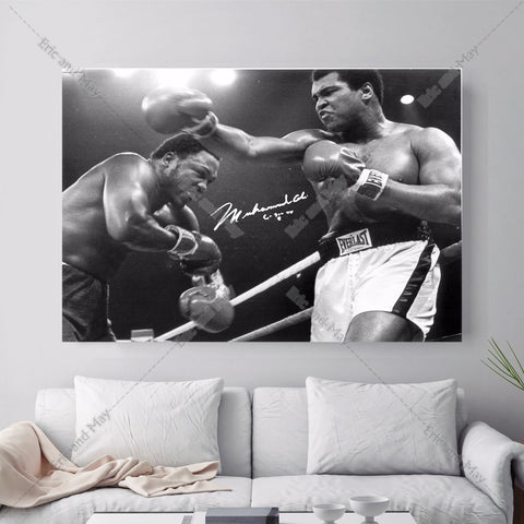 Muhammad Ali Boxing Forever Canvas Art Print Posters