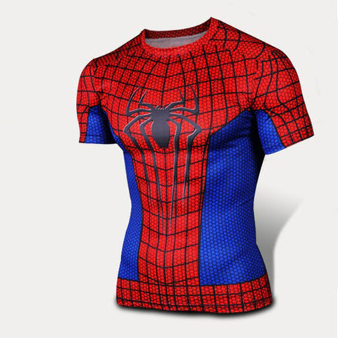 Spiderman Compression MMA Rash Guard