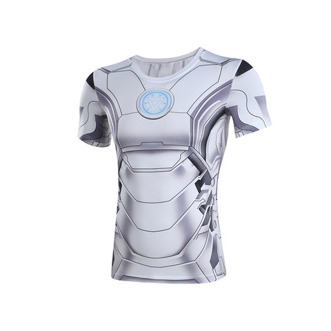 Iron Man Model 50 Compression Quick Dry MMA Rash Guard