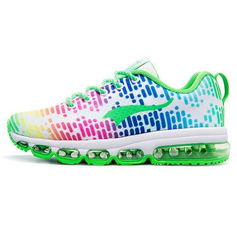 In the Matrix - Womens Running Shoes - Rainbow White