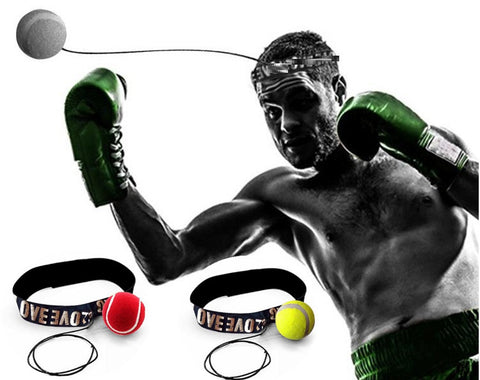 Lomachenko Ball Head Band - For Hand Eye Coordination