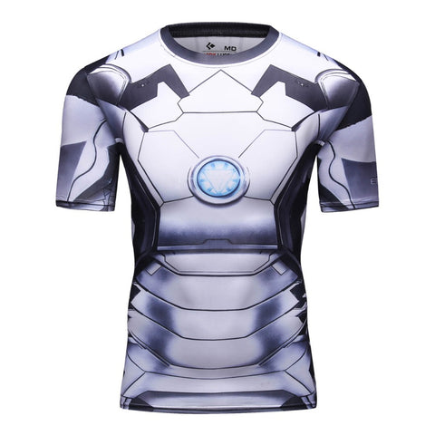 Ironman 2 Compression MMA Rash Guard