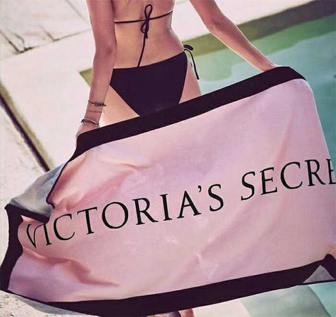Victoria Secrete Pink Beach Towel