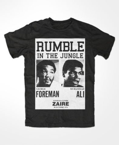 "Muhammad Ali ""Rumble in the Jungle"" T Shirt"