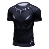Black Panther Quick Dry Compression MMA Rash Guard