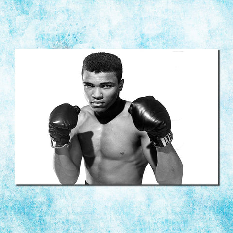 Young Muhammad Ali Poster