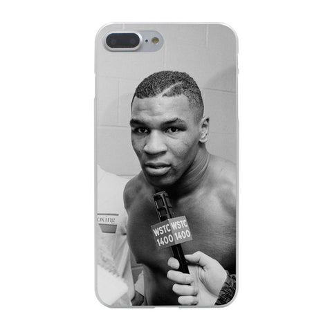 Mike Tyson punch Hard Phone Cover Case for Apple iPhone 10 X 8 7 6 6s Plus 5 5S SE 5C 4 4S Coque Shell