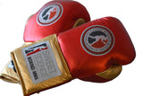 Sweet Science Boxing Elite Pro Fight Glove - Red/Gold - Sweet Science Boxing - 2