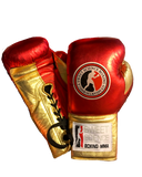 Sweet Science Boxing Elite Pro Fight Glove - Red/Gold - Sweet Science Boxing - 1