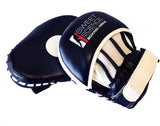Sweet Science Boxing/Punching Mitts - Curved - Black/White Vinyl - Sweet Science Boxing - 2