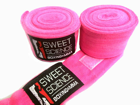 "Sweet Science Boxing Handwarps 180"" - Pink - Sweet Science Boxing"