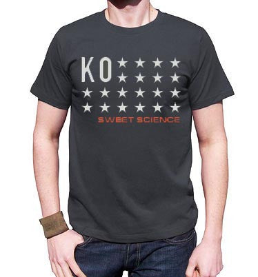 Sweet Science Boxing Men's T-Shirt: KO Stars - Sweet Science Boxing - 1