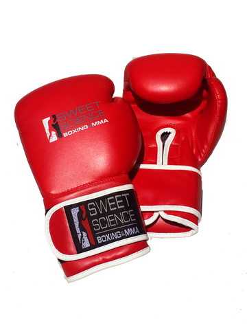 Sweet Science Boxing Gloves - Red - Sweet Science Boxing - 1