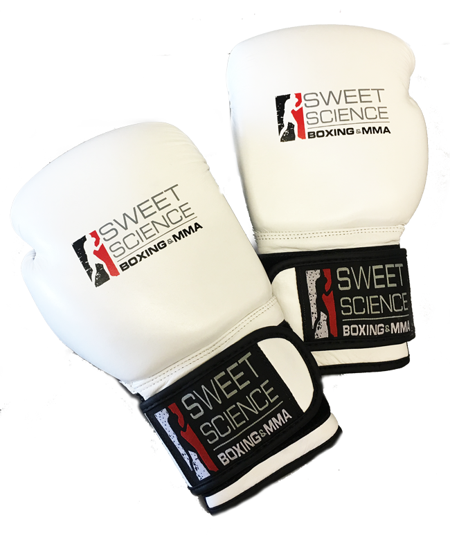 fc49c95533b5 Sweet Science Boxing Leather Bag Gloves - White - Sweet Science Boxing - 1