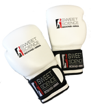 Sweet Science Boxing Leather Bag Gloves - White - Sweet Science Boxing - 1