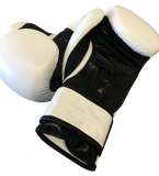 Sweet Science Boxing Leather Bag Gloves - White - Sweet Science Boxing - 2