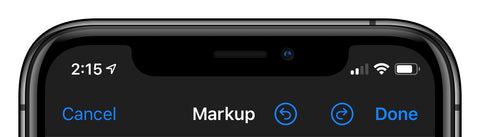 markup iOS iPhone iPad