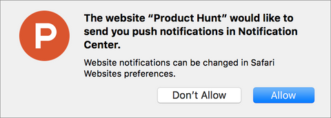 Safari Notifications 1