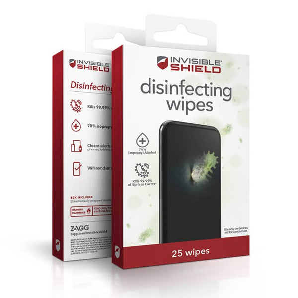 InvisibleShield Disinfecting Wipes (25pk)