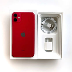 Open Box - iPhone 11 • Red / 64GB