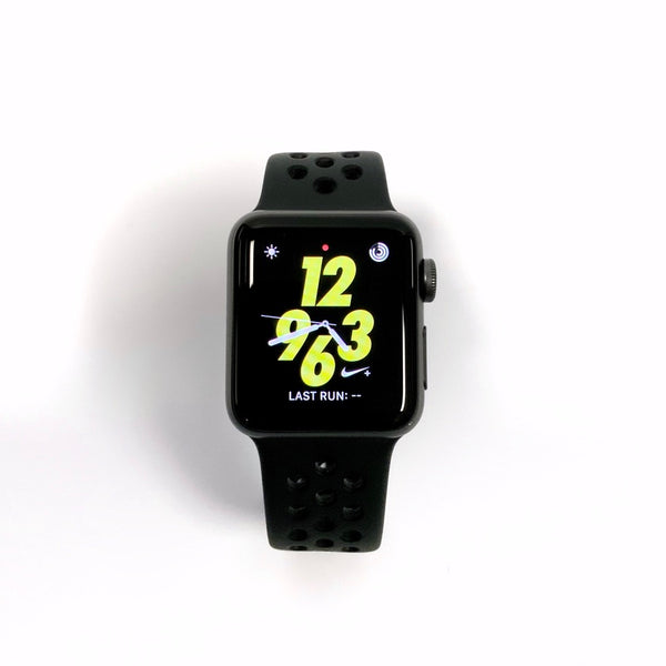 Open Box - Apple Watch Nike Series 3 • GPS + CELL / Space Grey / Aluminum / 38mm