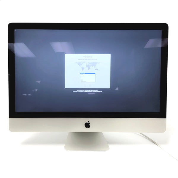 Pre-Owned - iMac (27-inch, Late 2015) • 3.3 GHz dual-core i5 / 8GB RAM / 1TB HDDD